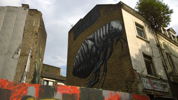 ROA Flea as seen from Ravey Street
