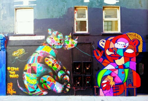 Louis Masai and Hunto on Turville Street