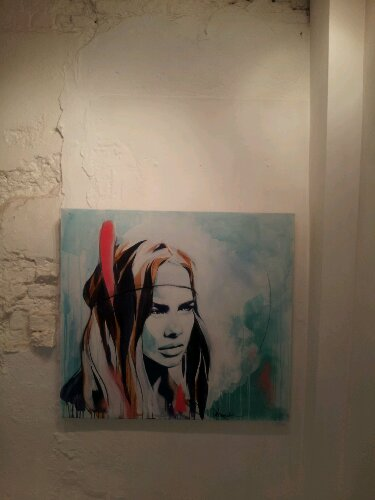 Hannah is also exhibiting at the Curious Duke Gallery on Whitecross Street, it's well worth a look