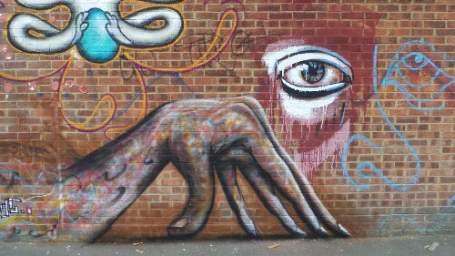 Bream Street is becoming a real must see for street art