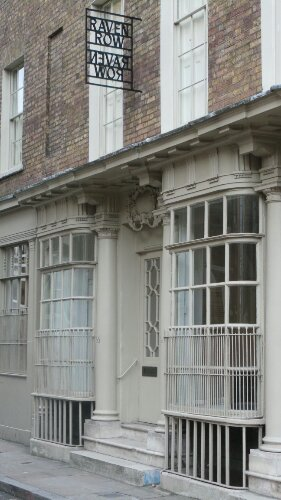 On Artillery Lane, one of London's oldest shop fronts