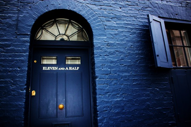 The doorway from  Huguenot House on Fournier Street in Spitalfields.  Photo by Stephanie Sadler