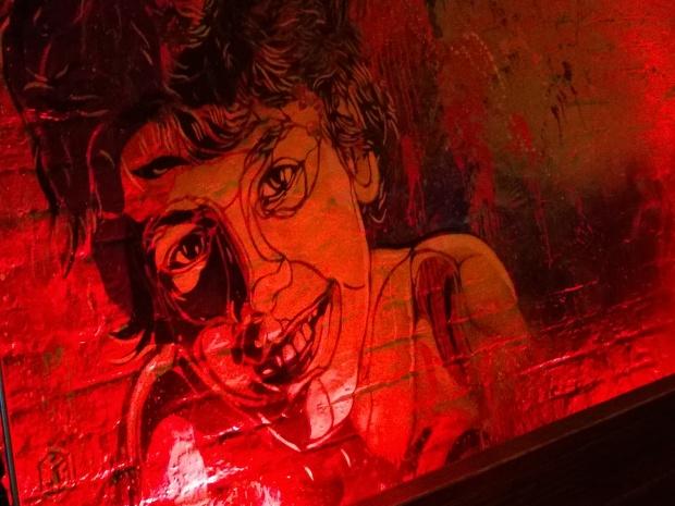 C215 art in Cargo on Rivington Street