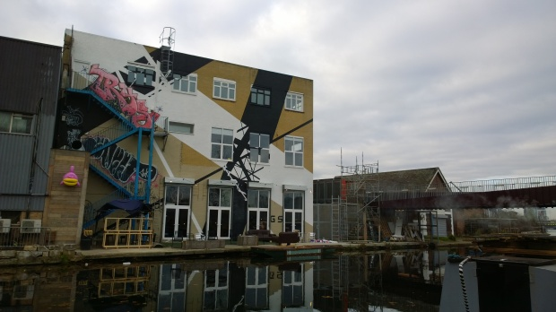 Another piece of art commissioned as part of the Canals Project though it seems to have been tagged a little