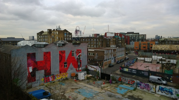 The Wick in all it's glory can be seen from the vantage point of the Hackney Wick overground station