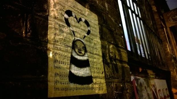 A Midge and MyDogSighs collaboration on Blackall Street
