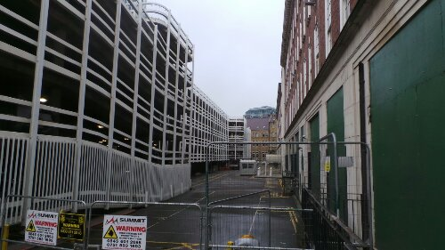 Millers Court would have been accessed via Dorset Street which is now unrecognisable from the notorious slum it once was