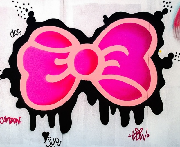 Big Pink Bow by Steffi Bow