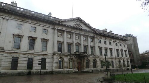 The old Royal Mint building was built on the site of the abbey
