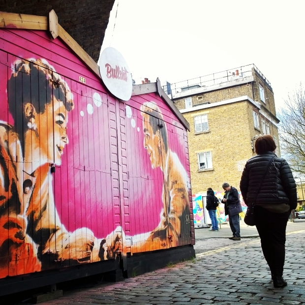 Sheds by Sr.X in Camden Market