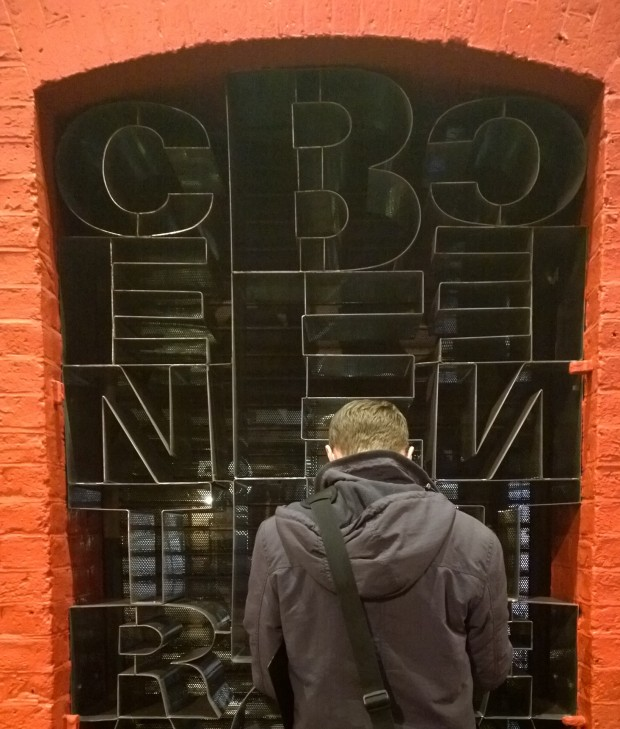 On a funky looking doorway in Seven Dials