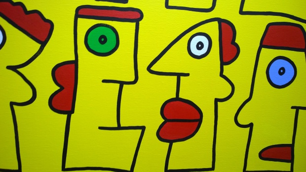 Cool yellow people