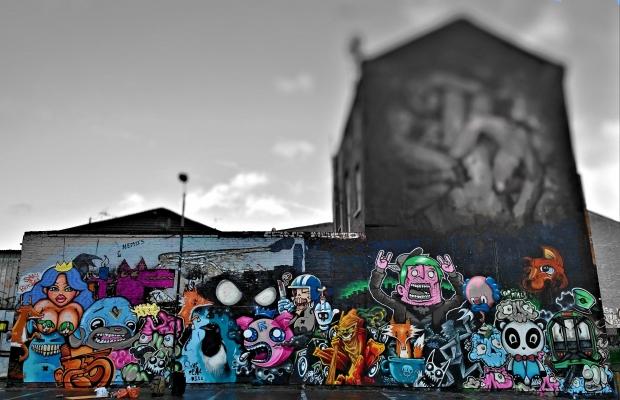 Paint Jam on Sclater Street