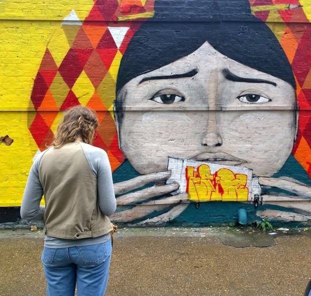 Ryan Kai art on Sclater Street