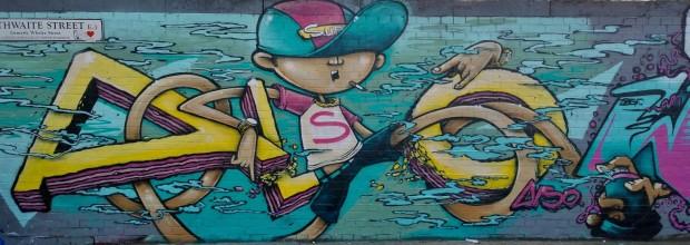 Finished piece from Ricky Dep on Braithwaite Street