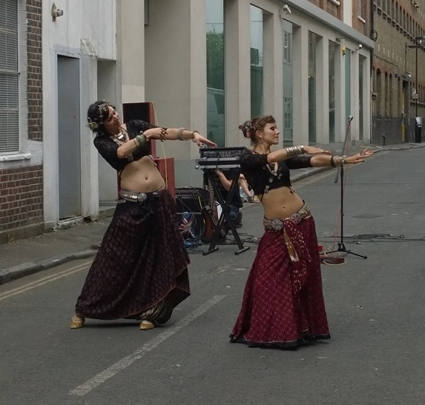 Whitecross Street belly dancers