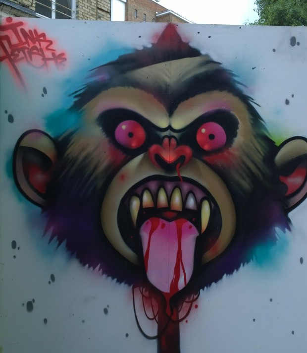 Inkfetish piece from Whitecross Street