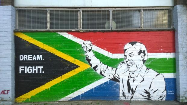 Zabou's tribute to Nelson Mandela