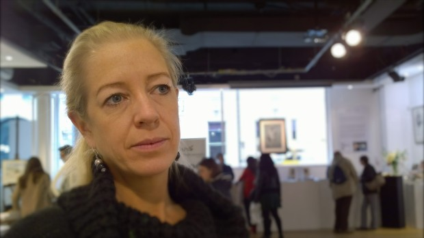 Arabella Dorman in the gallery