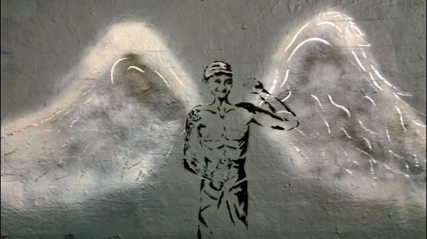 Angel tribute by KerryAnn Hays and her son Kieran
