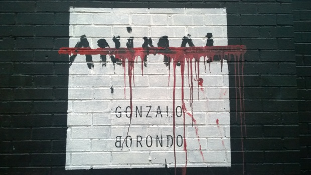 Gonzalo Borondo 'Animal' at the London Newcastle Gallery