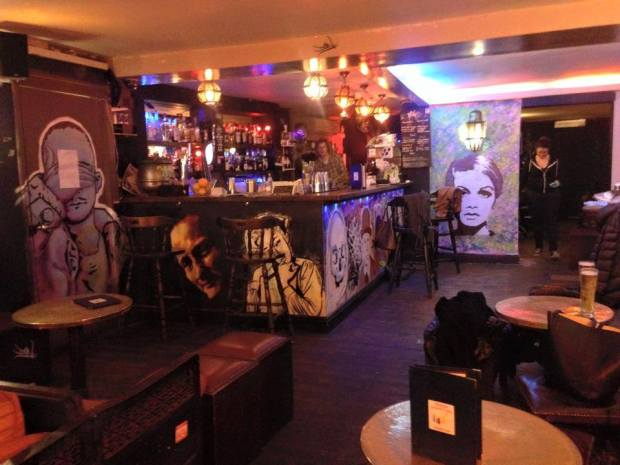 The inside of Monty's Bar and Lounge