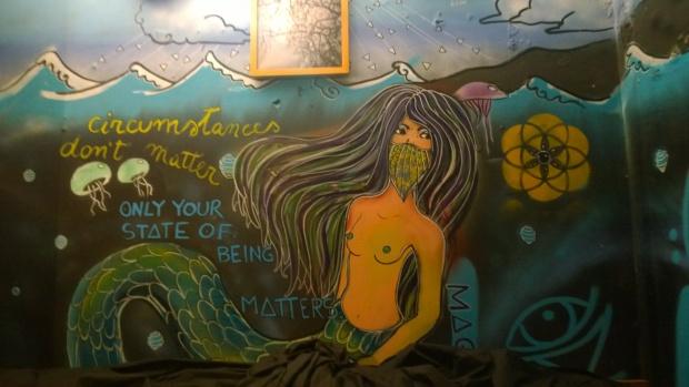A mermaid from Carolina Maggio in Montys