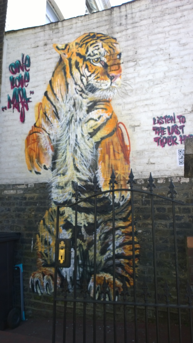 Louis Masai piece on Brockley Cross as always drawing attention to the plight of endangered species