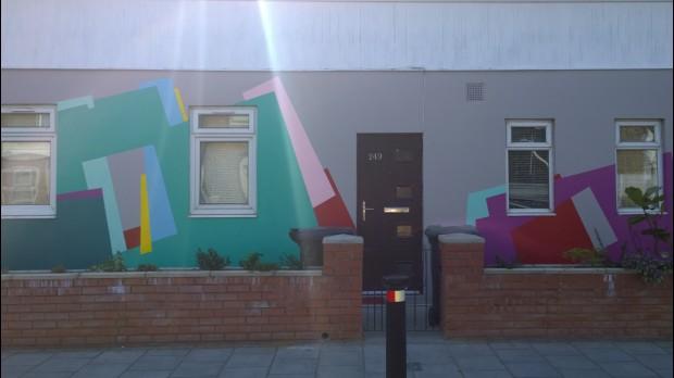 Nuria Mora wall on 249 Malpas Road