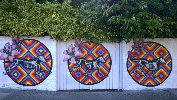 Insa mural on Avignon Road