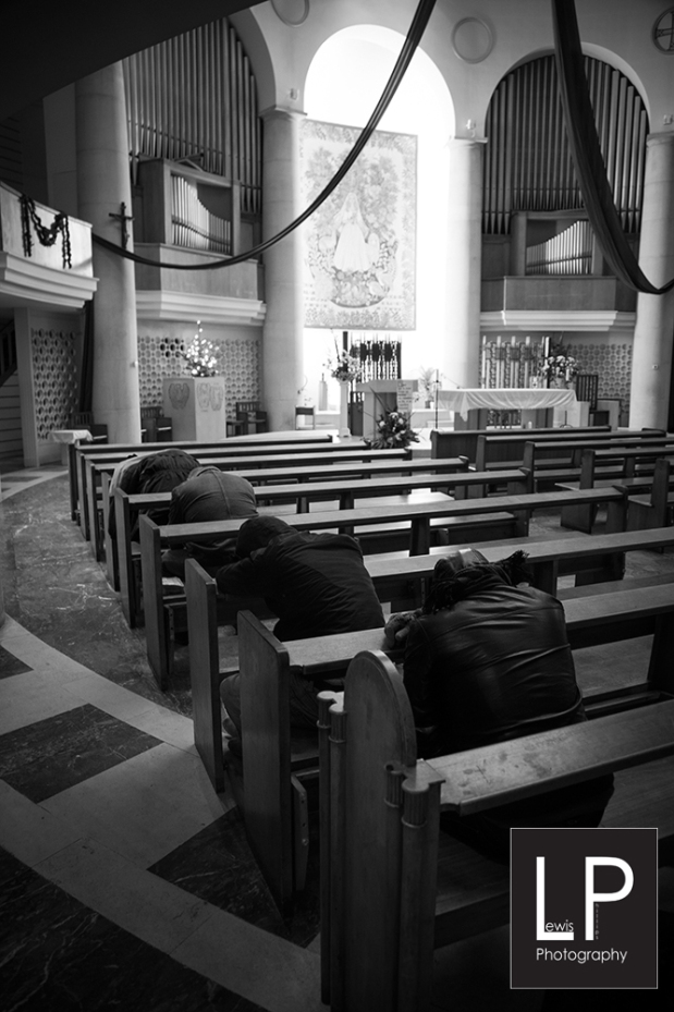 this is the french church in Leicester square, an amazing place to visit, where you can really see how hard life is for some people who have nothing at all. They use the building to sleep and get refuge from the elements