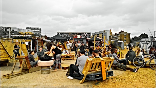 The Meeting of Styles in Shoreditch