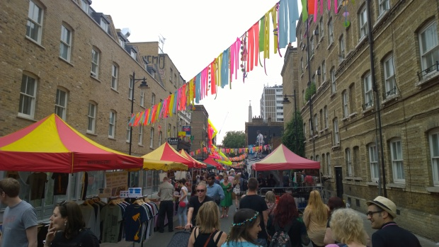The Whitecross Street Party busy as ever