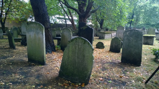 The Bunhill Fields burial ground