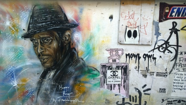 Huggy Bear with other work from Endless