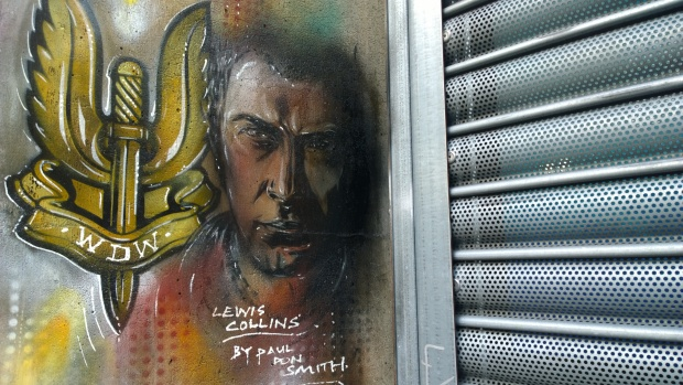 Lewis Collins 'Who Dares Wins' tribute