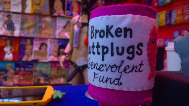 Benevolent fund for buttplugs