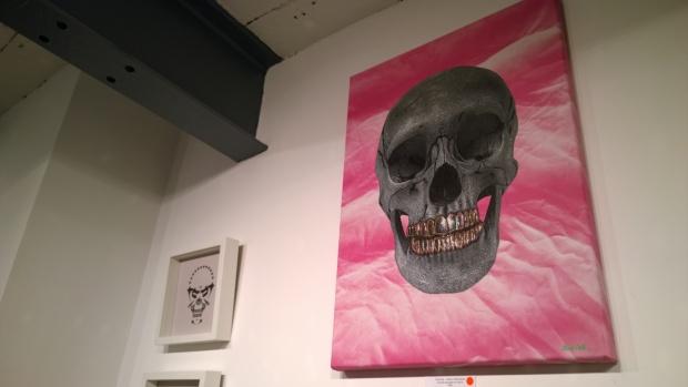 Nick Flatt skull