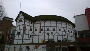 The Globe Theatre as it looks now