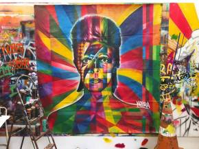 Bowie by Eduardo Kobra