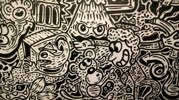 the doodle man