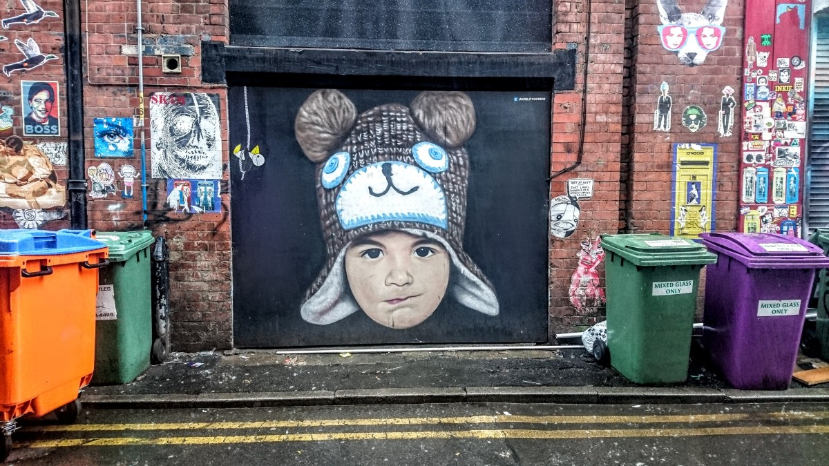 Street art in Manchester's Northern Quarter and where to find it