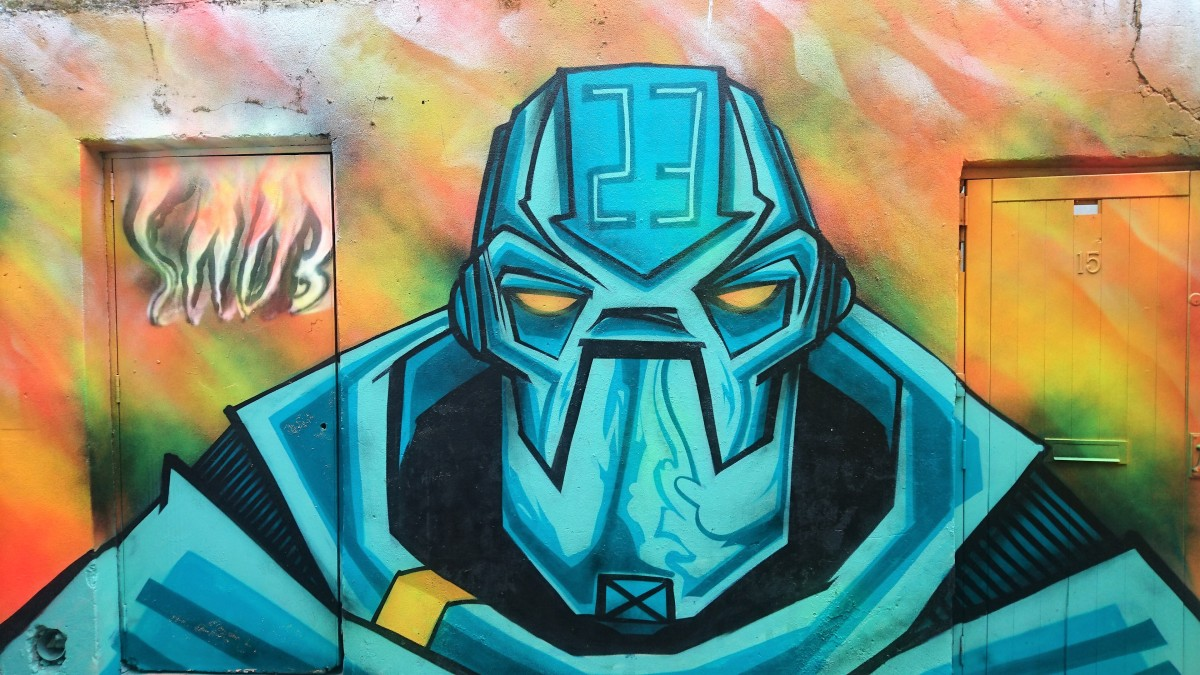 Where to find street art and graffiti in Brighton