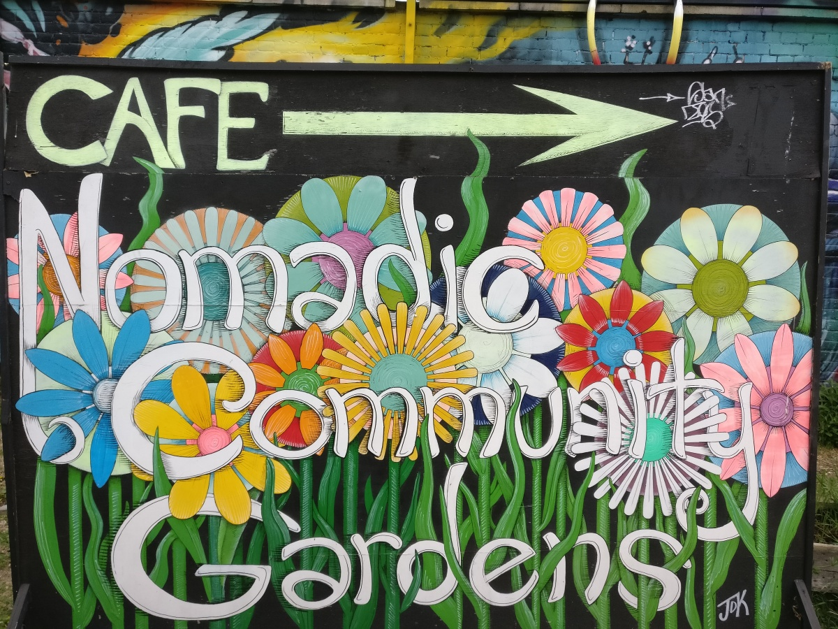 The Nomadic Community Garden in London and where to find it