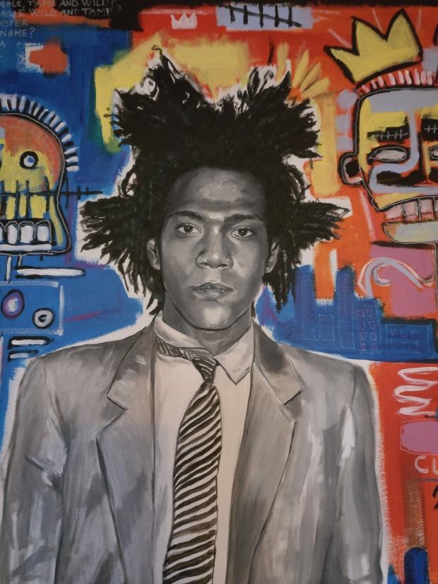 Jean Michel Basquiat Raffaella Bertolini