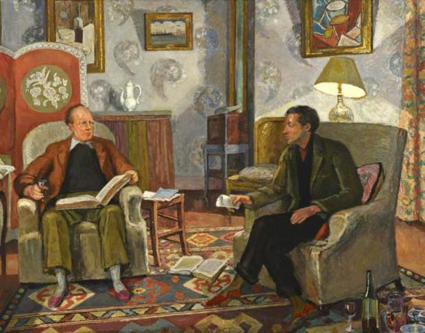 Grant and Bell (c) Henrietta Garnett; Supplied by The Public Catalogue Foundation