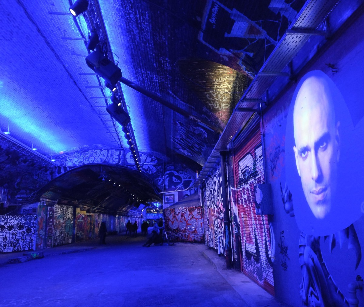 The Lumiere Festival transforms the legal graffiti spot of the Leake Street Tunnel