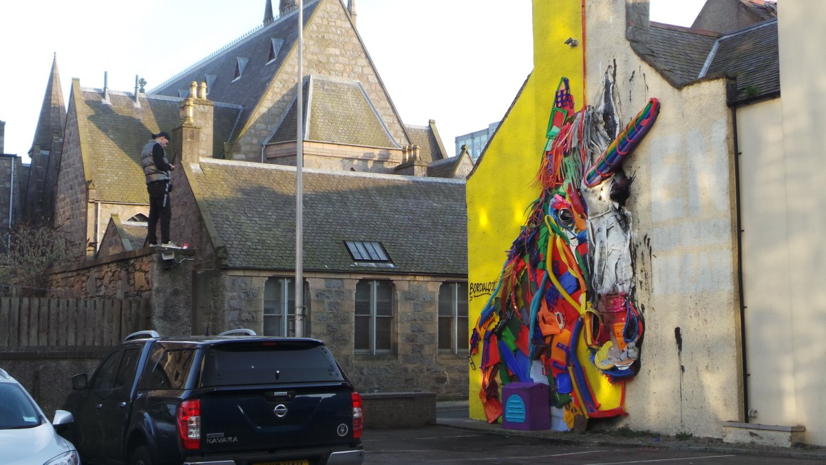 The murals of the 2018 Nuart Aberdeen Street Art Festival